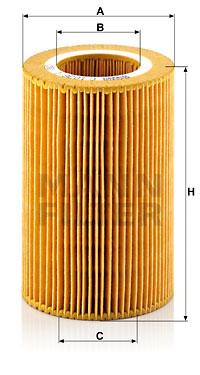 Ilmansuodatin MANN-FILTER C 1036/1