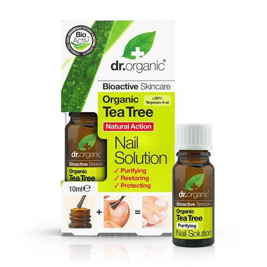 Dr. Organic Tea Tree Natural Action Nail Oil, 10 ml