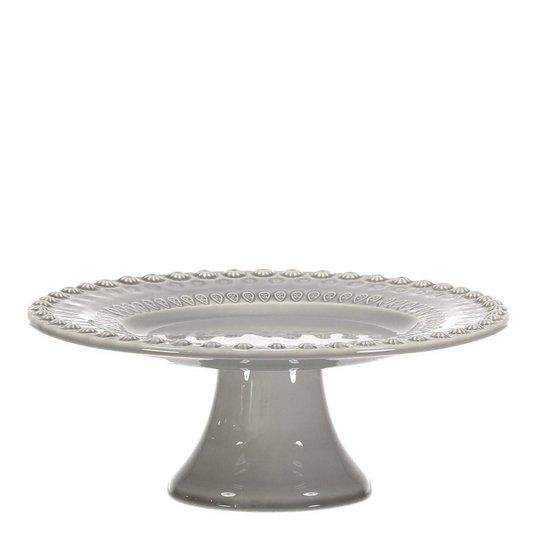 PotteryJo - Daisy Tårtfat 22 cm Soft Grey