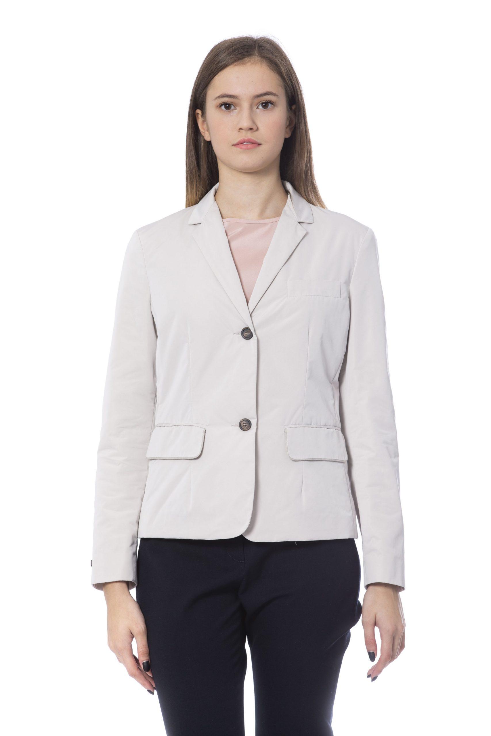 Peserico Women's Jackets Beige PE854592 - IT42 | S