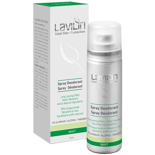Lavilin 72h Deodorant Spray- Sport with probiotics, Lavilin Deodorantit