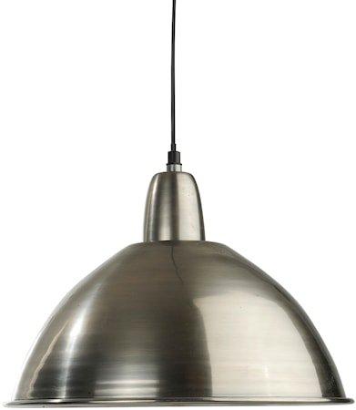 Taklampe Antikk sølv 35 cm