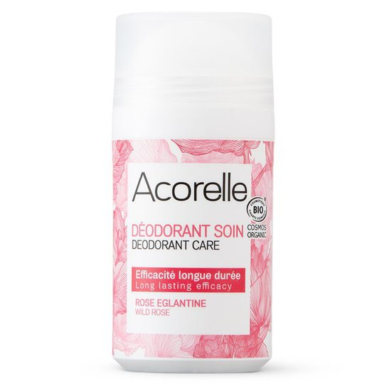 Acorelle Deodorant Care Wild Rose, 50 ml