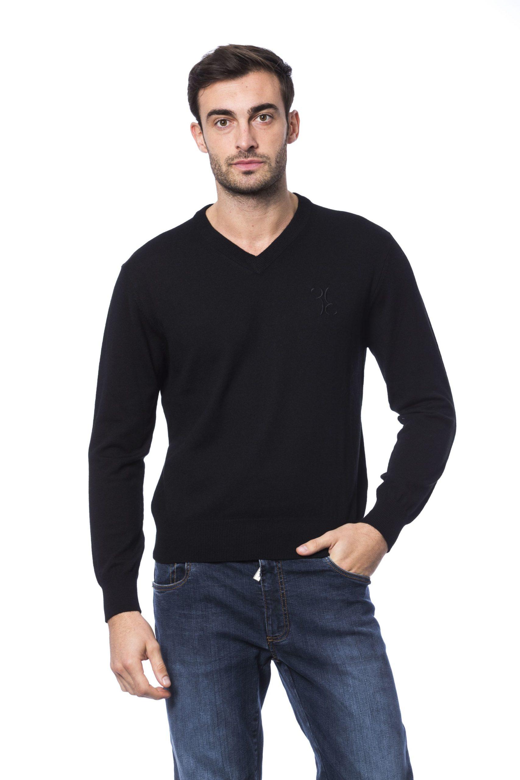 Billionaire Italian Couture Men's Nero Sweater Black BI1271983 - S