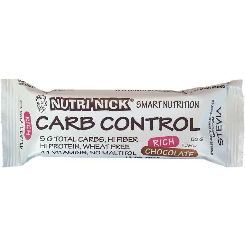 Carb Control - Rich Chocolate - 78% rabatt