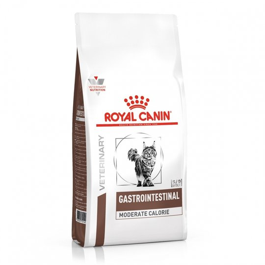 Royal Canin Veterinary Diets Cat Gastrointestinal Moderate Calorie (2 kg)