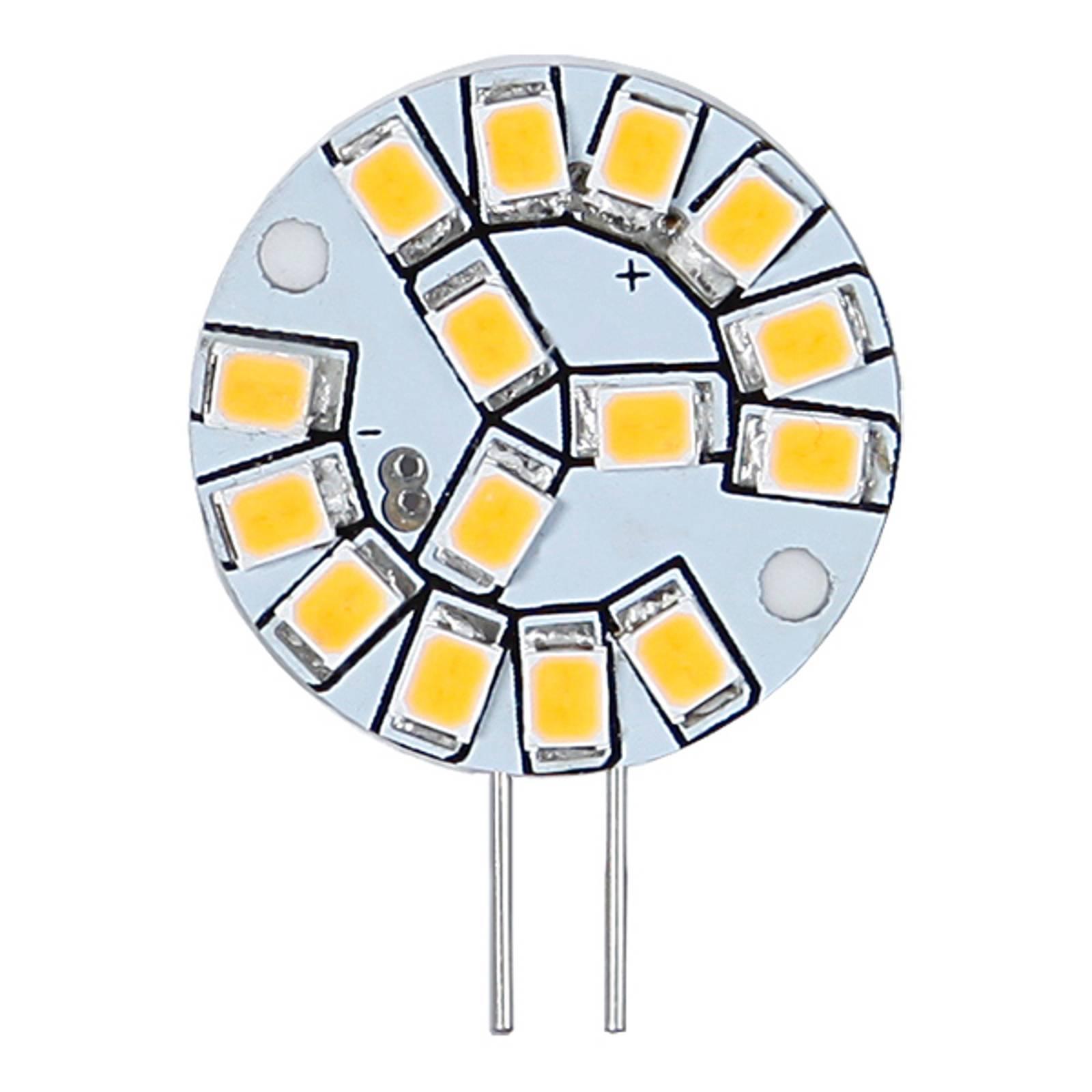 G4 12V 2 W 827 kaksikantainen LED-lamppu
