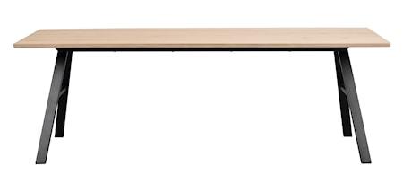 Brigham Matbord Vitpigment vildEk 220x90 cm