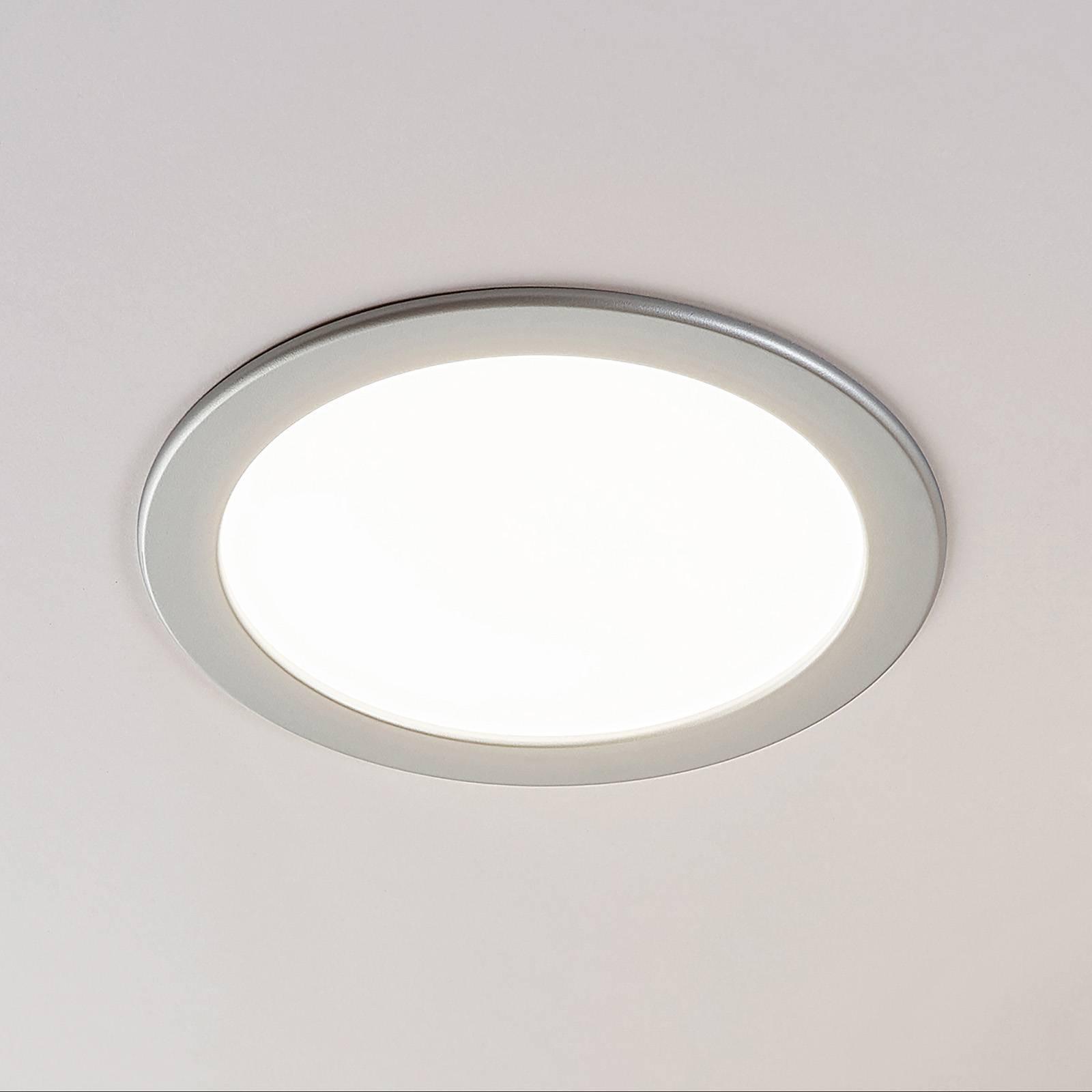 LED-kohdevalo Joki hopea 3 000 K pyöreä 24 cm