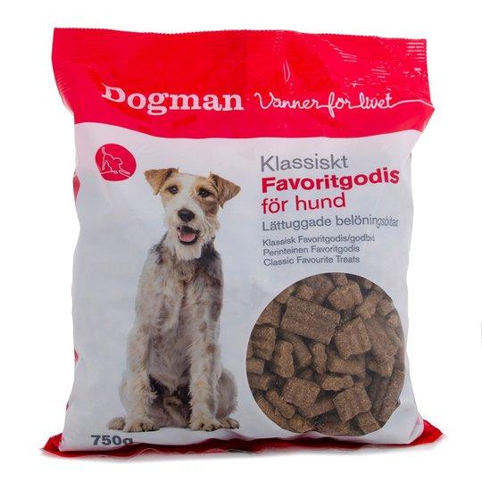 Dogman Favoritgodis (750 g)