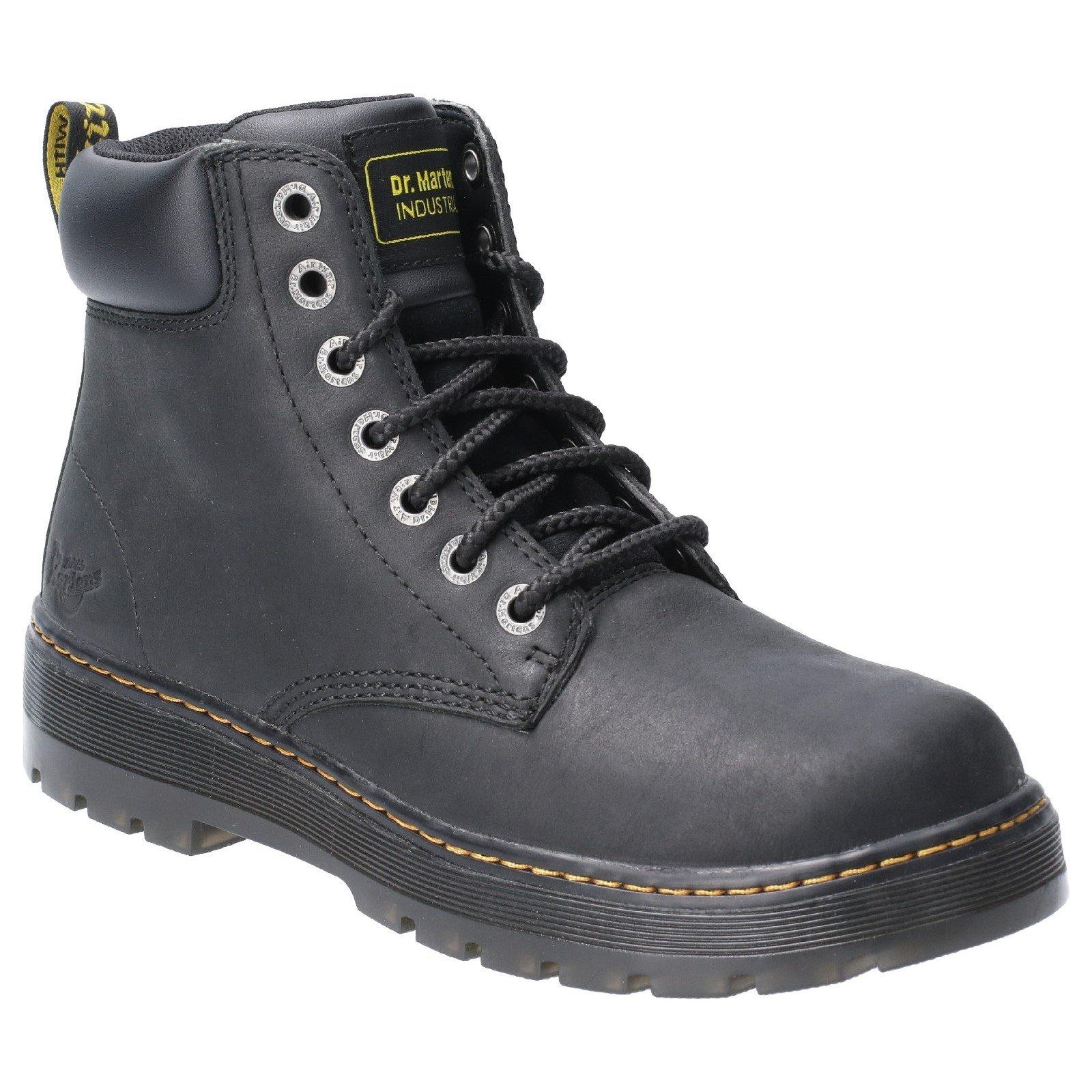 Dr Martens Men's Winch Non-Safety Work Boot Black 29821 - Black 10