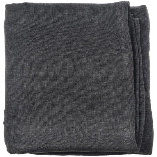 Aida RAW servetter 45x45 cm. mörkgrå 4 st