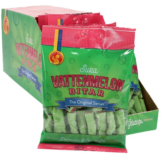 Sura vattenmelonsbitar 18-pack - 50% rabatt