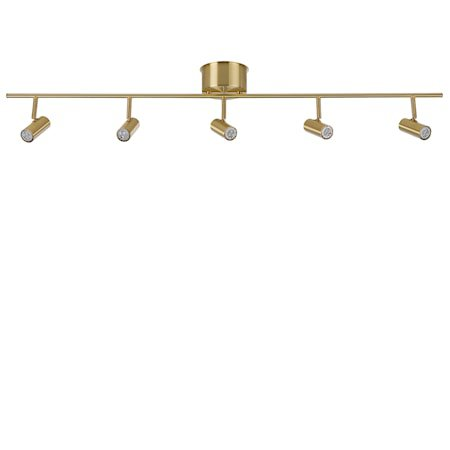 Cato Skinne Messing 5-spot LED Dimbar