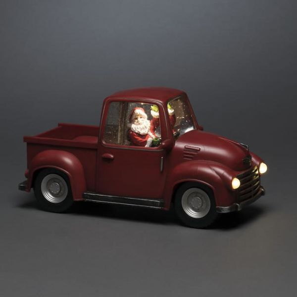 Konstsmide 4384-550 Dekorasjonsbelysning bil med julenisse