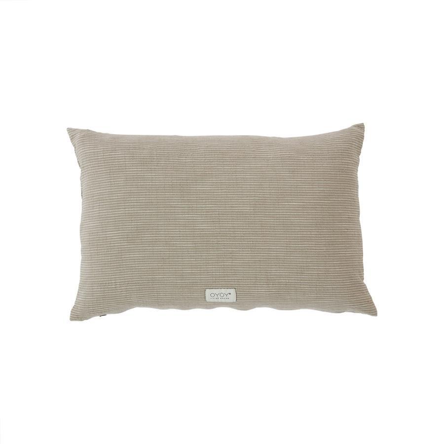 OYOY Living - Kyoto Organic Cushion - Clay