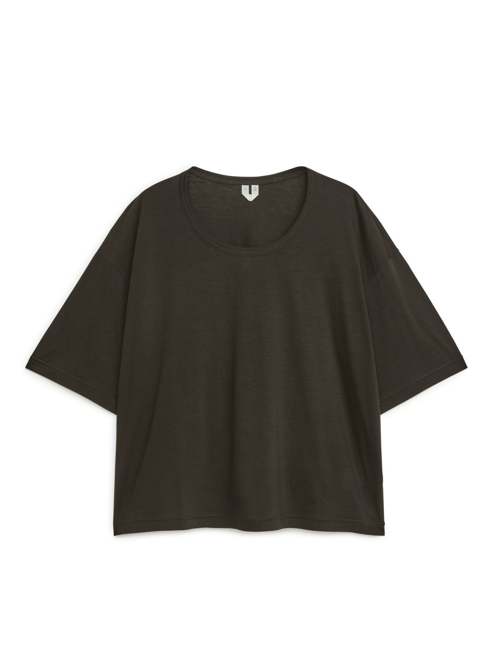 Wide-Fit T-Shirt - Brown
