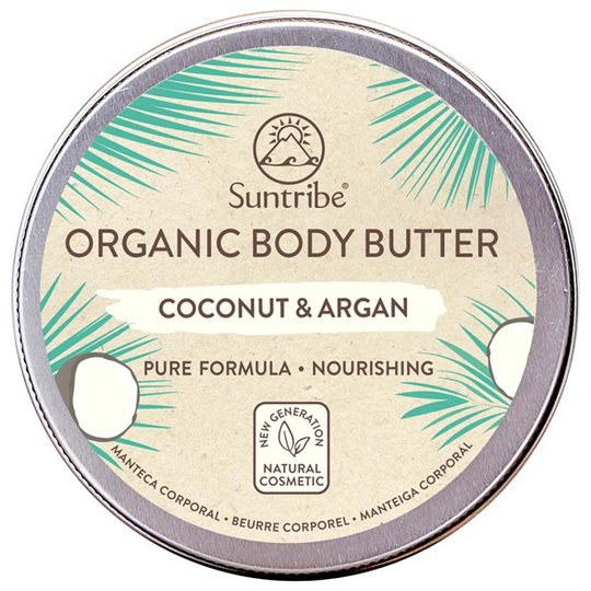 Suntribe Organic Body Butter Coconut & Argan, 150 ml