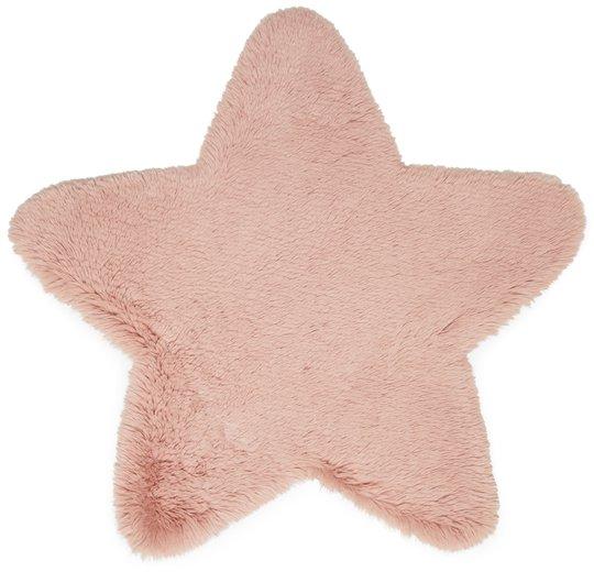 Alice & Fox Teppe Fake Fur Star, Pink