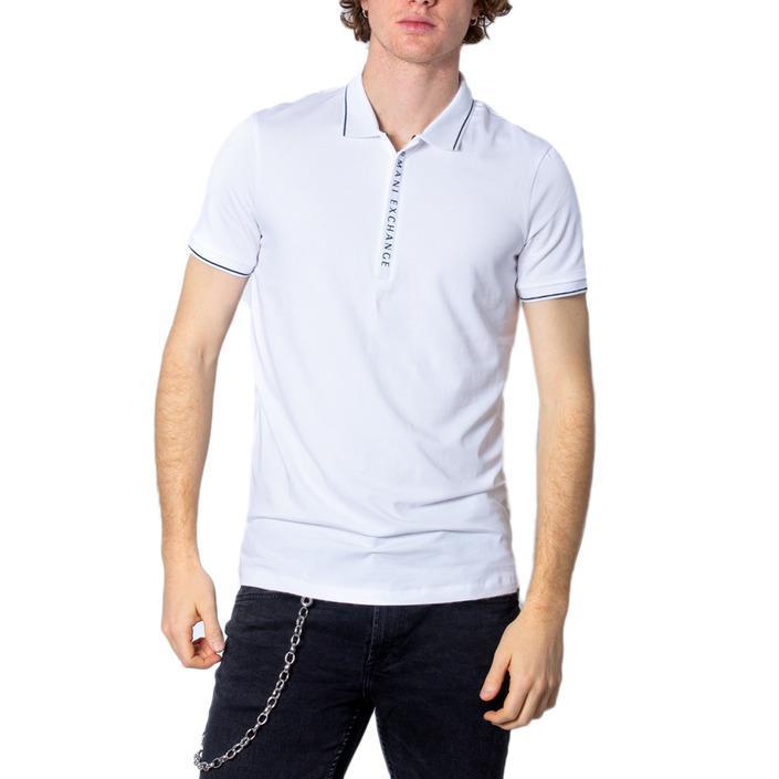 Armani Exchange Men's Polo Shirt White 171141 - white XL