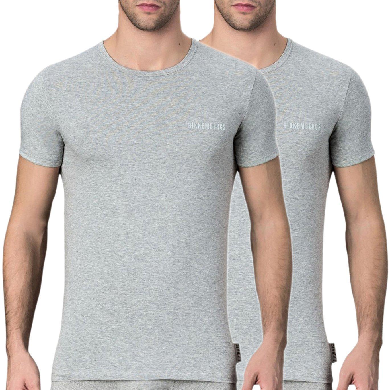 Bikkembergs Men's T-Shirt Various Colours VBKT04086 - grey S