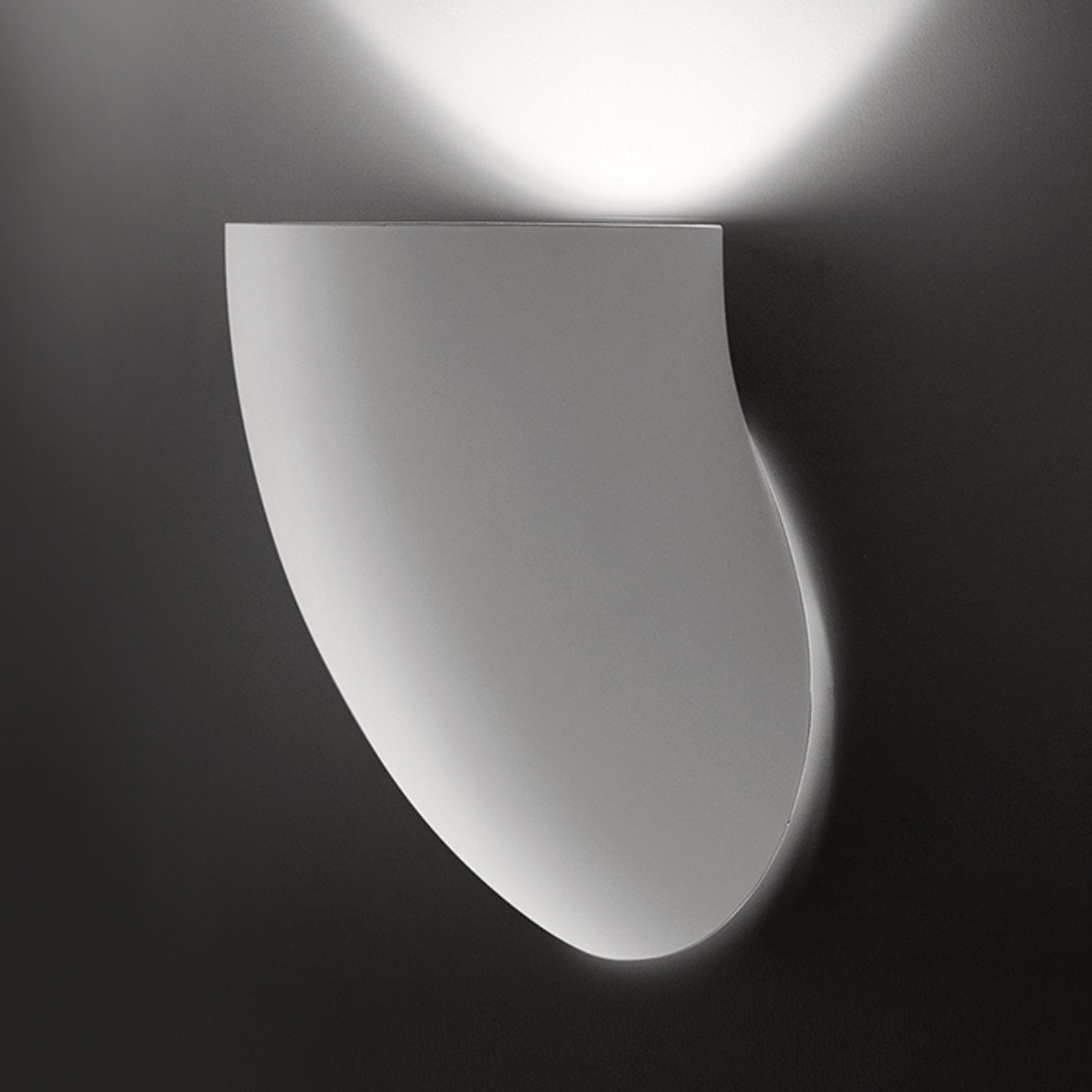 Martinelli Luce Gomito - hvit vegglampe