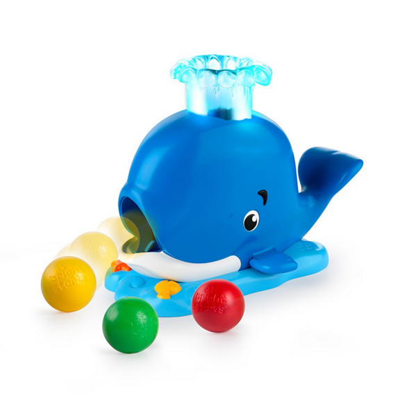 Bright Starts - Silly Spout Whale Popper (10934)