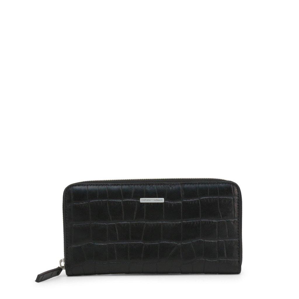 Emporio Armani Men's Wallet Black YEME49 YDE7E - black NOSIZE