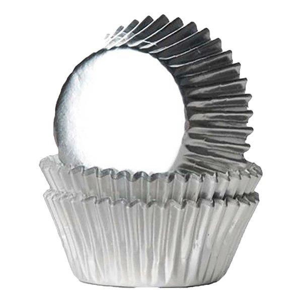 Muffinsformar Mini Folie Silver - 36-pack