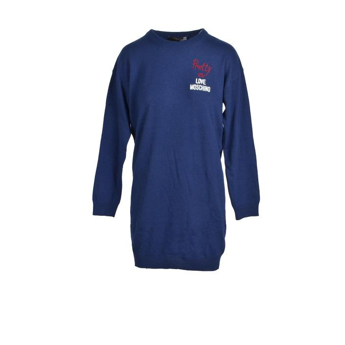 Love Moschino - Love Moschino Women Dress - blue 40