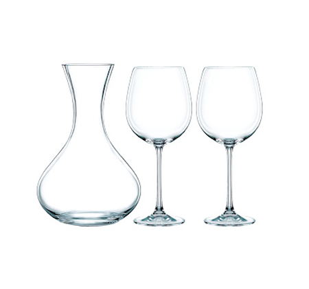 Vivendi Karaffel + 2 st vinglass