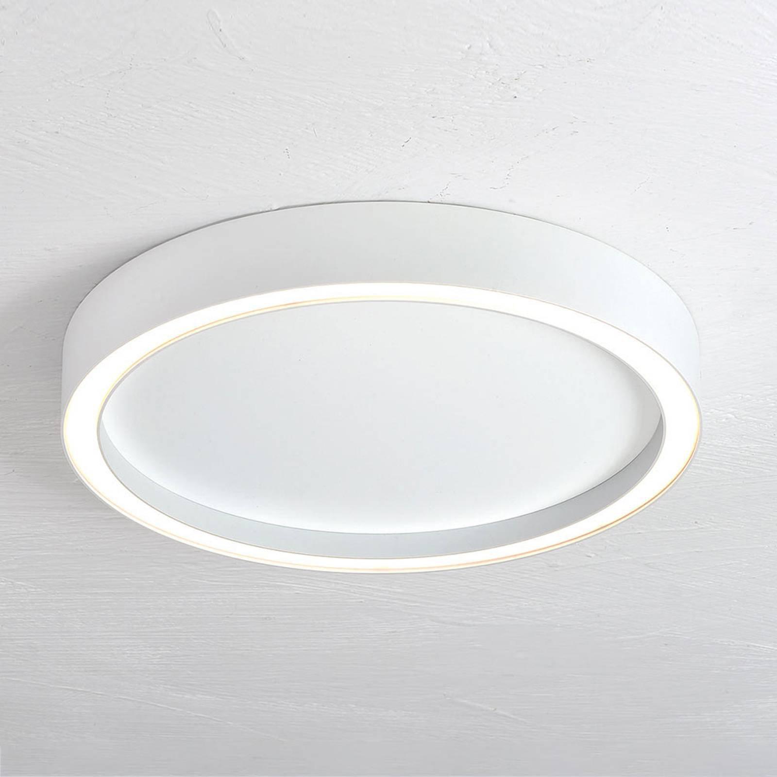 Bopp Aura LED-taklampe med Ø 55cm hvit/hvit