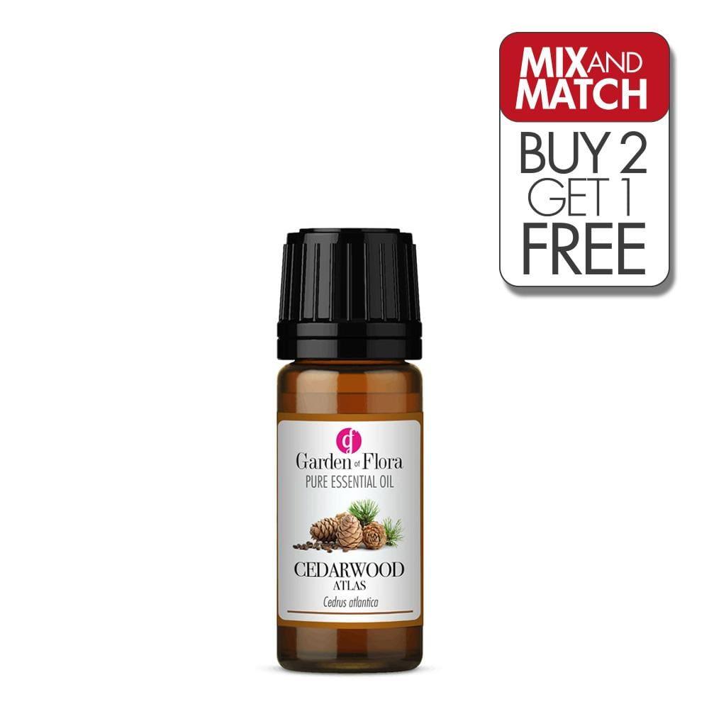 Cedarwood Atlas Pure Essential Oil (10ml)