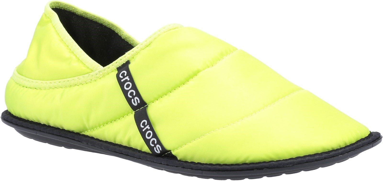 Crocs Unisex Neo Puff Slipper Various Colours 31449 - Lime 3