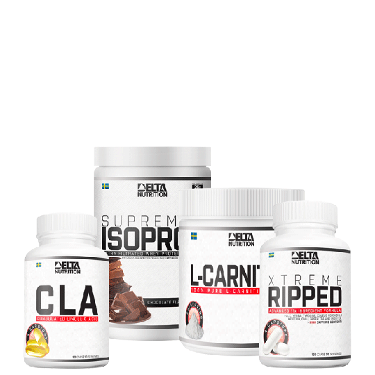 Delta Diet Stack (Xtreme Ripped, ISO PRO, CLA, L-carnitine)