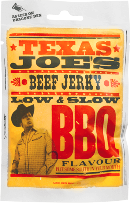 Texas Joes Low & Slow BBQ Beef Jerky 25g