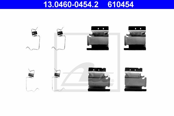 Tarvikesarja, jarrupala ATE 13.0460-0454.2