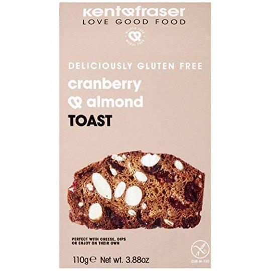 Bröd Tranbär & Mandel 110g - 66% rabatt