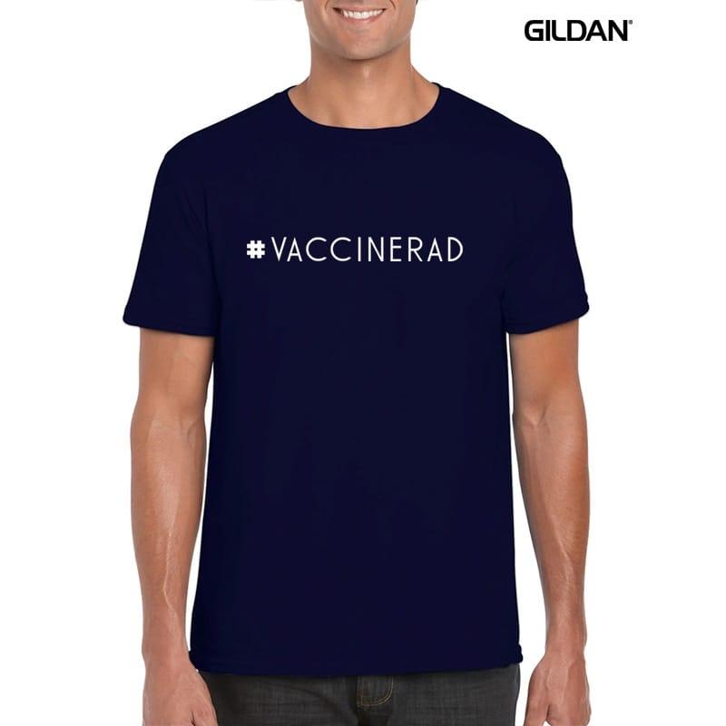 T-shirt till Man Strl XL #Vaccinerad