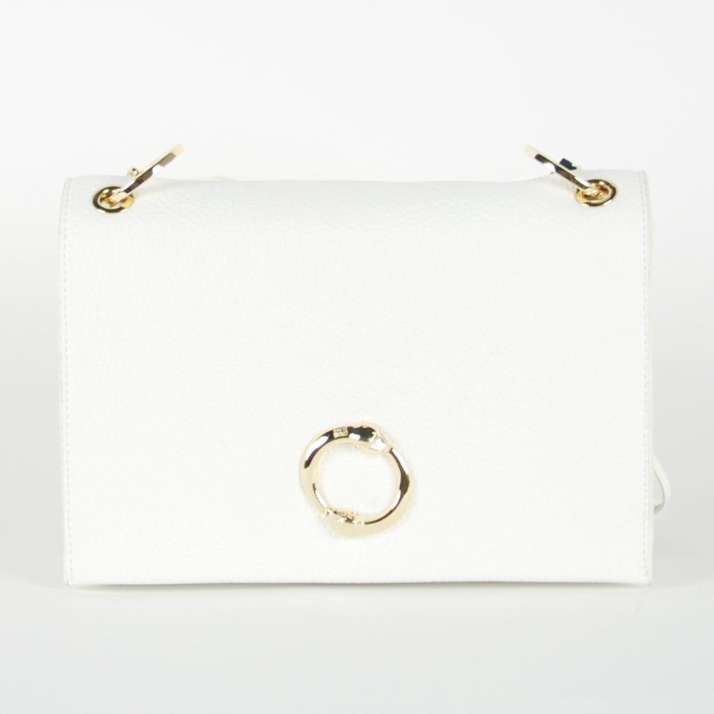 Cavalli Class Women's Shoulder Bag White CA1421389