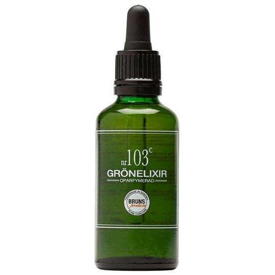 BRUNS Products Grönelixir nr 103c - Oparfymerad, 50 ml