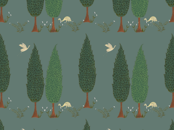 Tranquility Wallpaper Sample: Asparagus Green-TR1902AGS