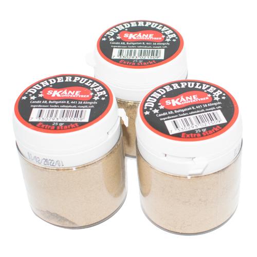 Dunderpulver Extra Starkt - 25 gram