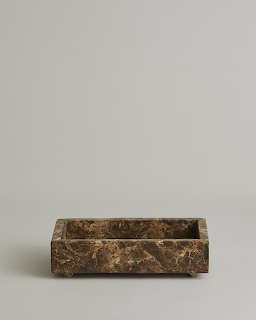 AYU Marmor Bricka Small rectangular Brun