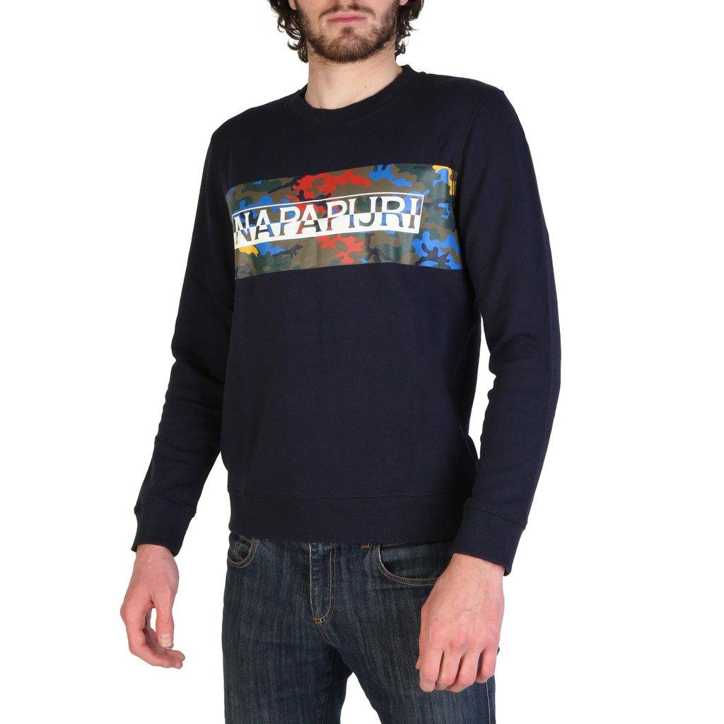 Napapijri Men's Sweatshirt Blue BALKA_N0YIH3 - blue S
