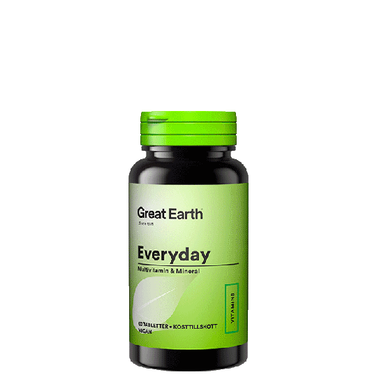 Everyday, 60 tabletter
