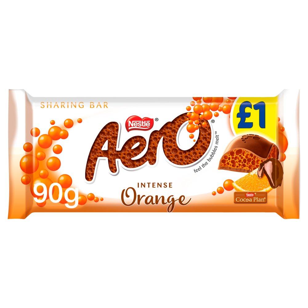 AERO Orange Chocolate Bar 90g