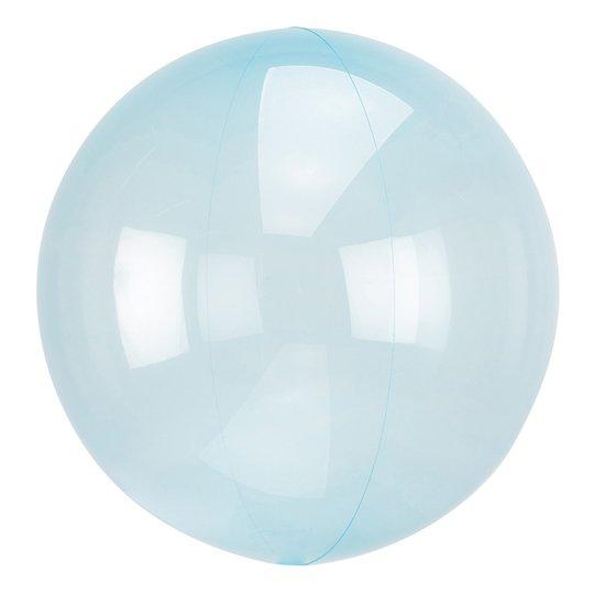 Ballong Clearz Crystal Blå