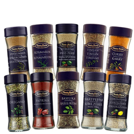 Kryddpaketet Mellan - 64% rabatt