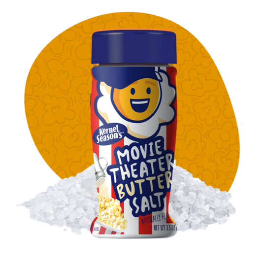 Kernels Popcorn Seasoning Movie Theatre Butter Salt 99g